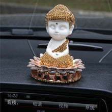 Load image into Gallery viewer, Crystal Ceramic Buddha