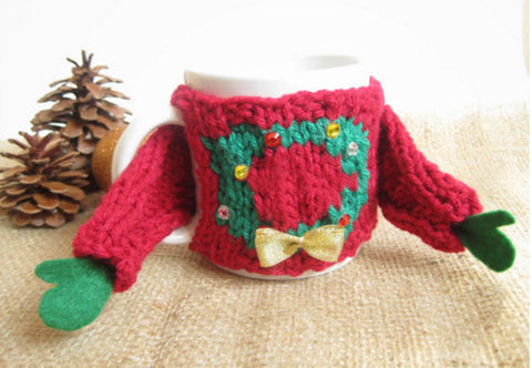 Ugly Christmas Mug Sweater