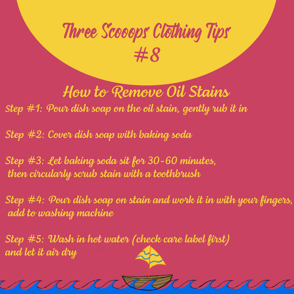 Three Scooops Clothing Tip #8