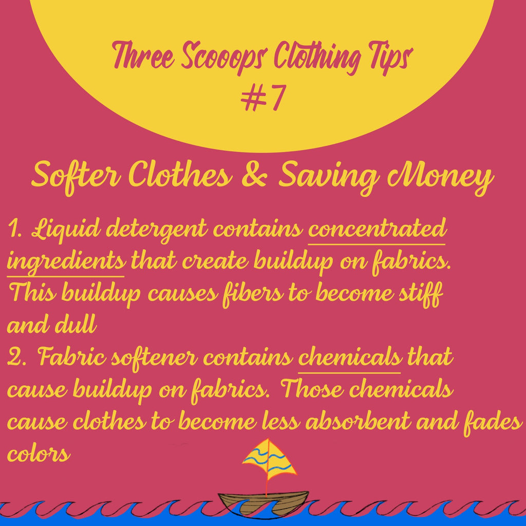 Three Scooops Clothing Tip #7