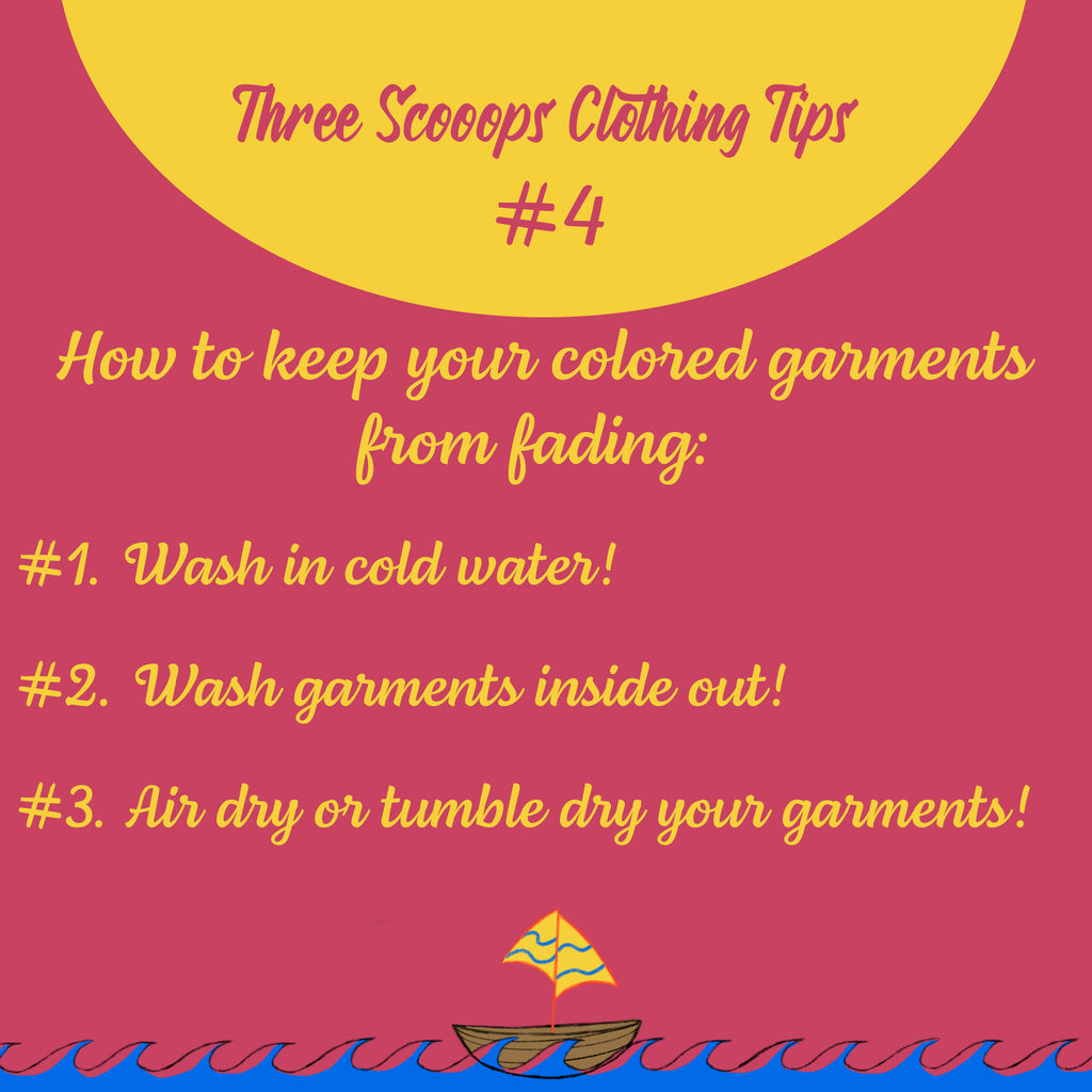 Three Scooops Clothing Tip #4