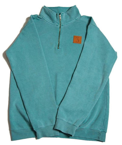 Three 1/4 Zip Pullover