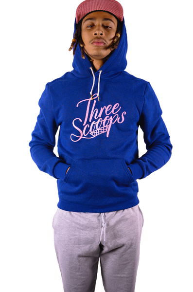 Three Scooops Hooded Pullover