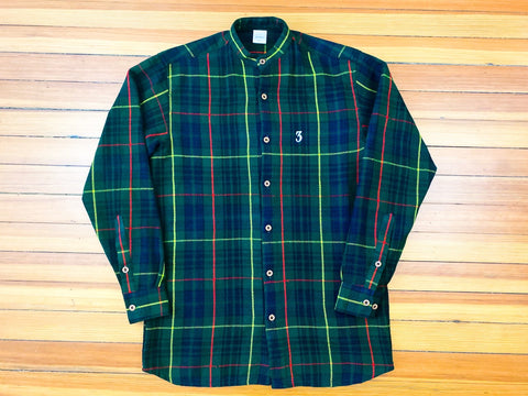 Three Scooops Tartan Button-Up