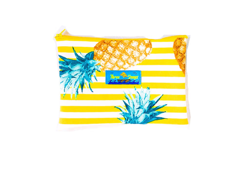 Three Scooops Pineapple Travel Pouch