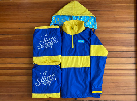 Three Scooops Rain Jacket