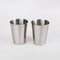 Stainless Steel Cups - Set of 2