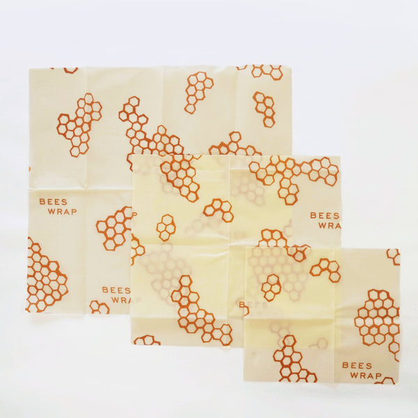 Assorted 3-Pack Beeswax Wraps