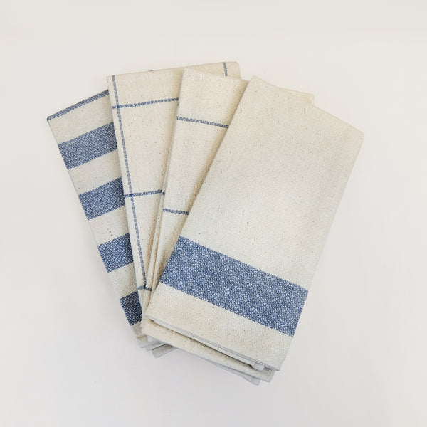 Upcycled Minimal Kitchen Towels (4-pack)
