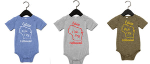 Future Fish Fry Enthusiast Wisconsin Onesie