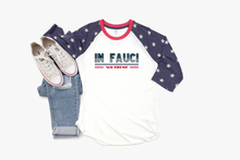 Load image into Gallery viewer, In Fauci We Trust Baseball Stars Raglan Jersey