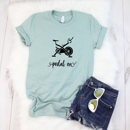 Pedal On Peloton Shirt