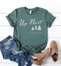 Load image into Gallery viewer, Up Nort' Wisconsin Girl Shirt