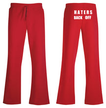 Load image into Gallery viewer, Haters Back Off Adult Sweatpants- Miranda Sings