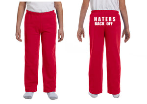 Haters Back Off Youth Sweatpants - Miranda Sings