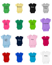 Load image into Gallery viewer, Personalized Infant Onesie