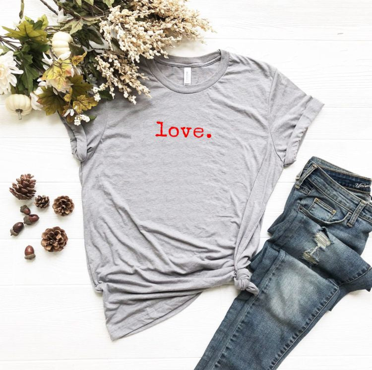 Love Valentine's Day Gift Shirt