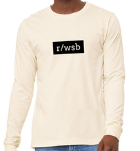 Load image into Gallery viewer, Wall Street Bets Reddit Long-Sleeve T-shirt