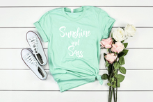 Load image into Gallery viewer, Sunshine and Sass T-shirt