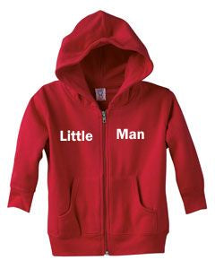 Personalized Toddler Zipper Hoodie