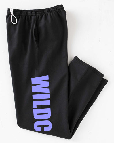 Customized Youth Open-Bottom Sweatpants
