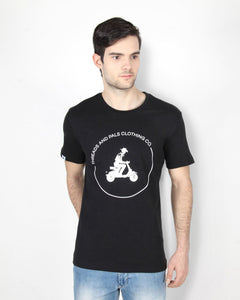 Black Scooter T-Shirt