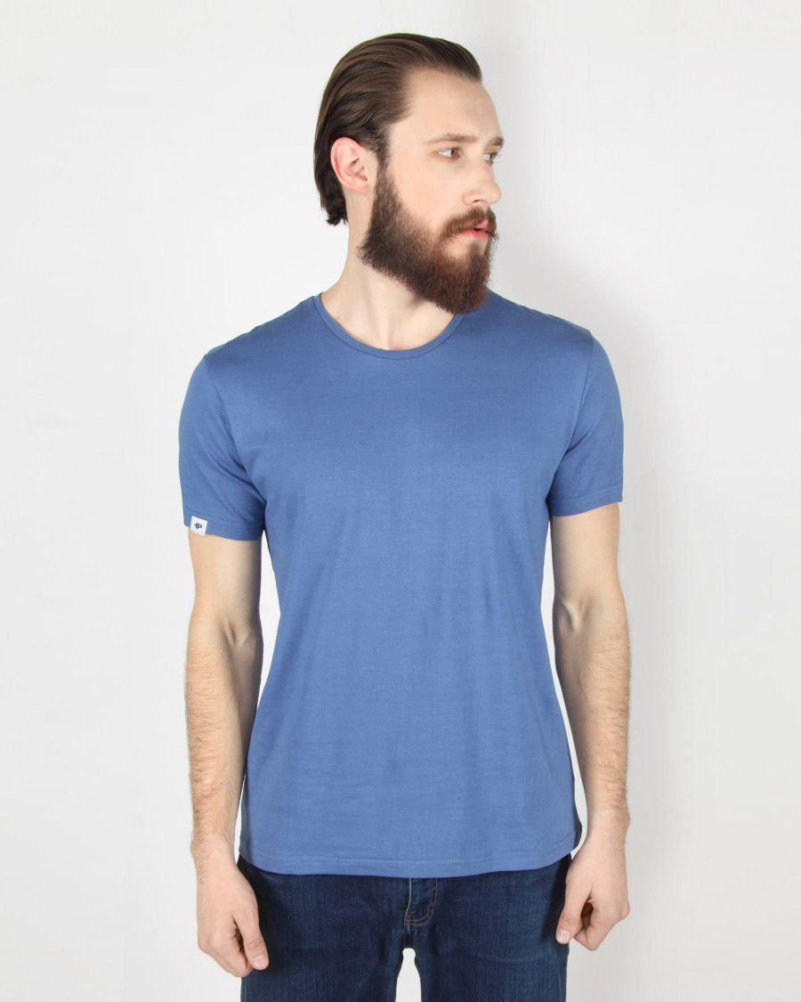Basic in Blue Tee