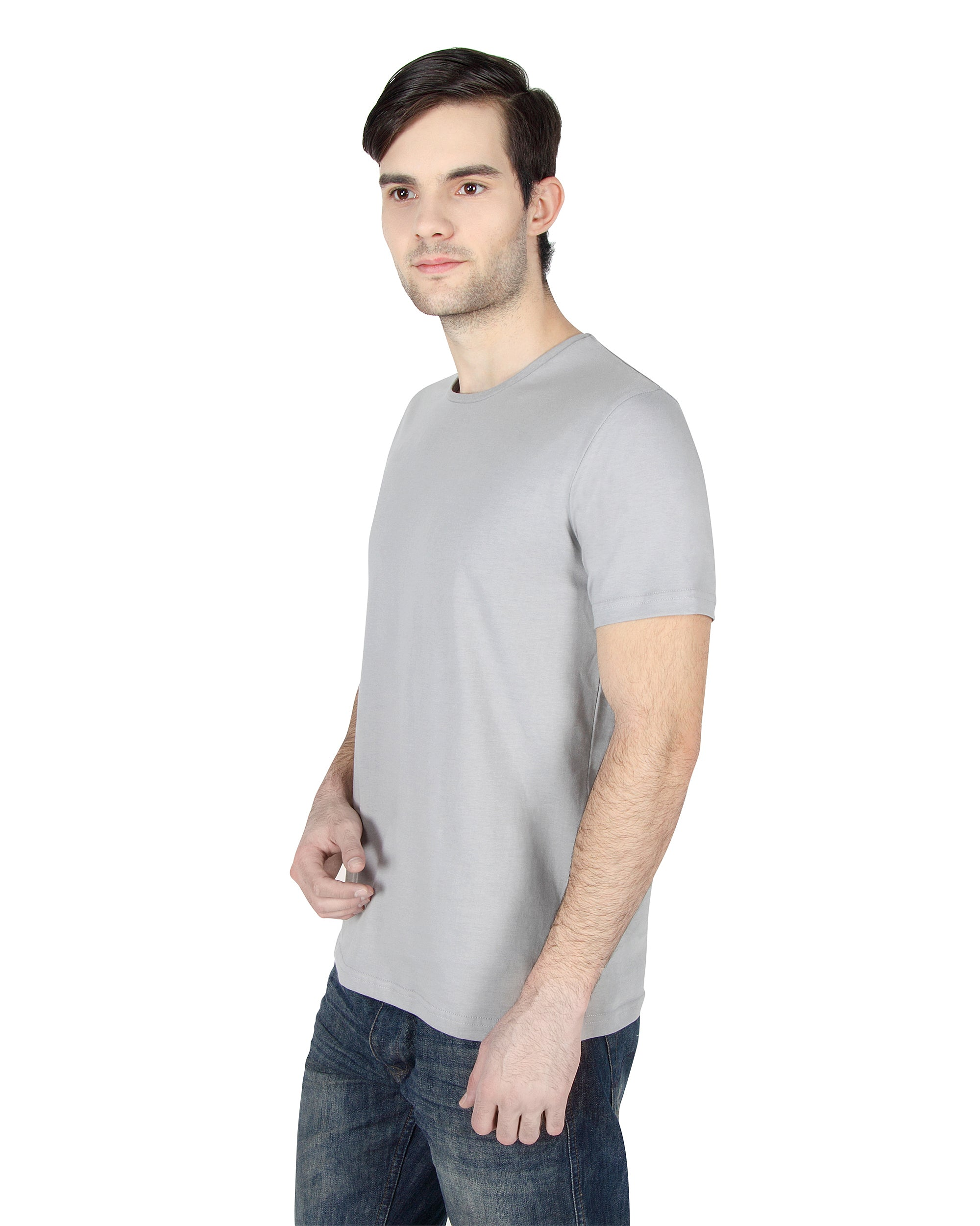 Heather Grey Tee
