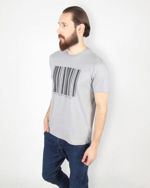 Grey Bar Code T-Shirt