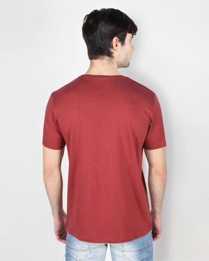 Maroon Basic T-Shirt