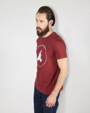 Scooter Maroon T-Shirt