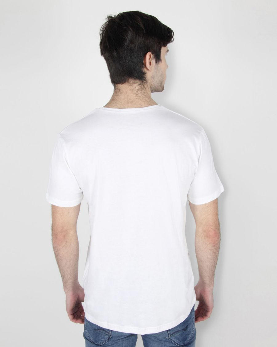 White Basic T-shirt
