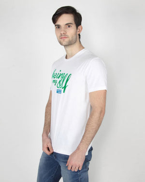 Being Myself White T-Shirt