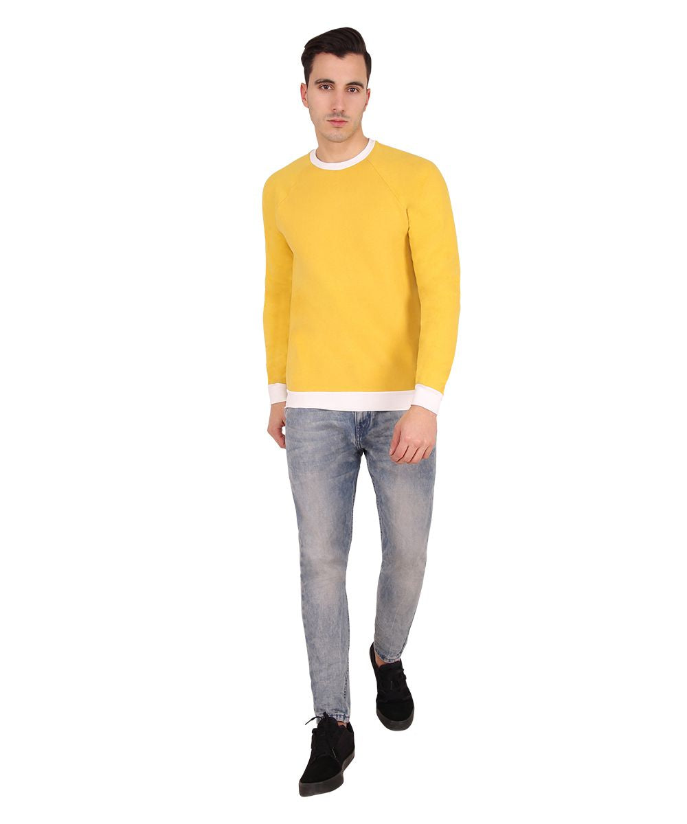 Morning Star Yellow Sweatshirt
