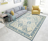 Classical Persian Gorgeous Living Room Bedroom carpet PVC Pattern Design slip resistant