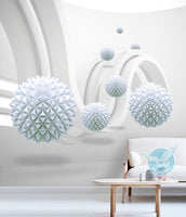 3d dimensional ball architectural art space three dimensional - sbp-art