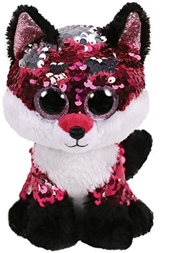 Beanie Boos - Jewel Flippable Sequin Fox Medium