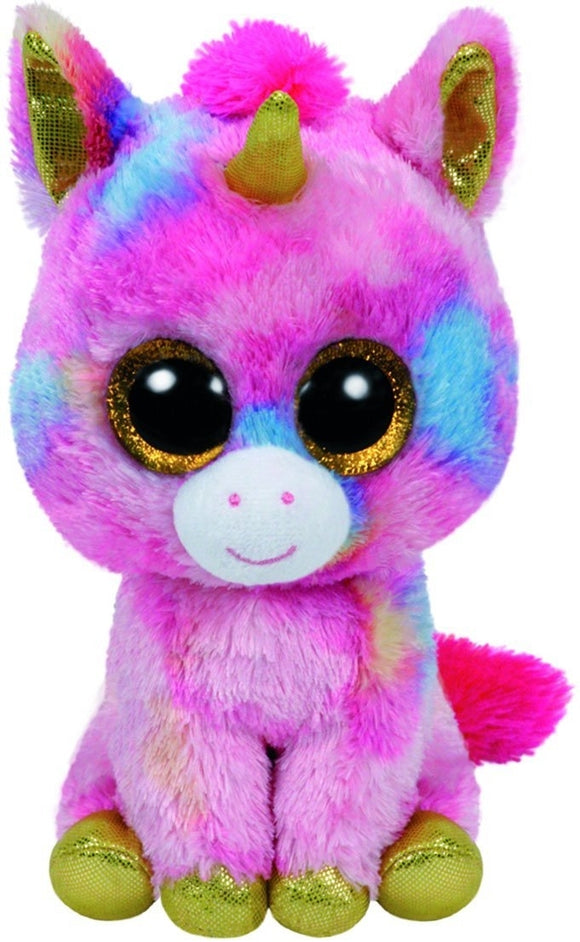 Beanie Boos - Fantasia Multicolor Unicorn Large