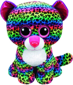 Beanie Boos - Dotty Multicolor Leopard Large