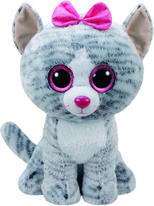Beanie Boos - Kiki Grey Cat Large