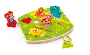 Farmyard Sound Puzzle