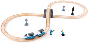 Hape - Passenger Train Set Educational Toys & Games