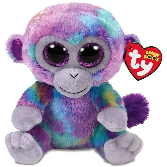 Beanie Boos - Zuri multi-colored monkey - Jouets Choo Choo