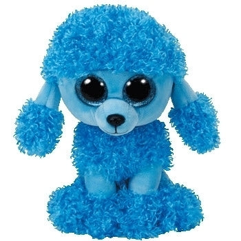 Beanie Boos - Mandy Blue Poodle Medium