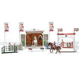 Big horse show with riders and horses - Jouets Choo Choo