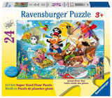 Ravensburger Land Ahoy! - 24 pc Floor Puzzles