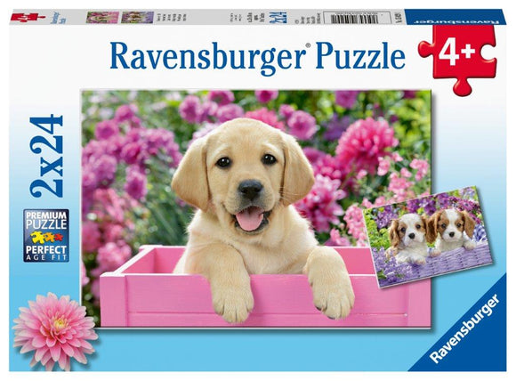 Ravensburger Me and My Pal - 2 x 24 pc Puzzles