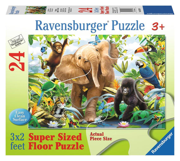 Ravensburger Jungle Juniors - 24 pc Floor Puzzles