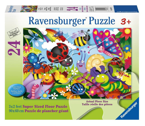 Ravensburger Cute Bugs - 24 pc Floor Puzzles