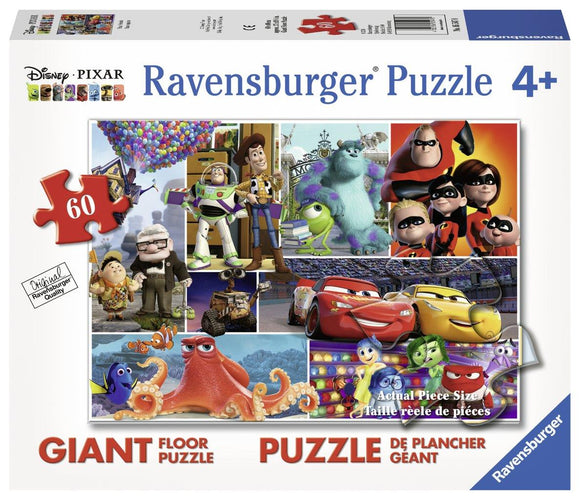 Ravensburger Disney Pixar Friends - 60 pc Floor Puzzles